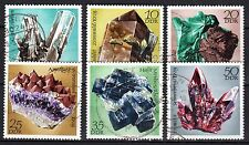 Germany / DDR - 1972 Minerals / Geology - Mi. 1737-42 VFU