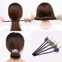 Robe Manche Châle à cheveux Accessoires cheveux longs Diapositive Clip Bun Support épingle à cheveux H