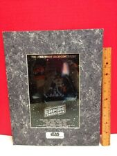 Chromart Star Wars Empire Strikes Back Advance Style A Poster Chromium Print