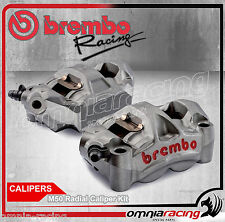 Brembo 220A88510 Coppia Pinze Freno Radiali M50 100 mm + Pastiglie Freno
