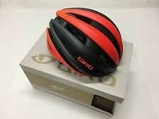 2017 GIRO SYNTHE MIPS HELMET MATTE VERMILLION / CHARCOAL MEDIUM - NIB!