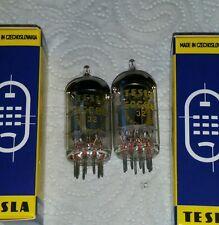 Mp ecc88 6dj8 Tesla matched pair old stock en Box tubo 548 EA