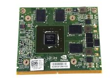 Dell Precision M4600 M6600 2GB Nvidia Quadro 1000M Video Card KDWV4 N12P-Q1-A1