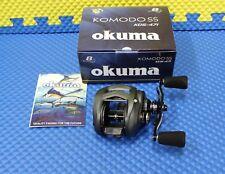 Okuma Komodo SS With Twin Paddle Handle Low Profile Baitcast Reel KDS-471