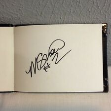 WNBA HOUSTON COMETS AUTOGRAPHED BOOK SIGNED BY MICHELLE SNOW # 2