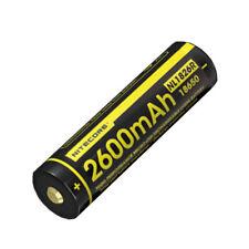 Nitecore NL1826R 2600mAH 3.7V 18650 USB Rechargeable Battery