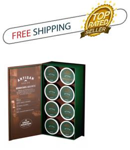 Green Mountain Artisan Series Bourbon Barrel-Aged Keurig Coffee 8 K-Cups Pods