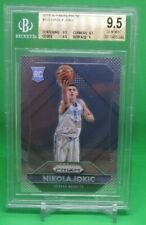 2015 16 PANINI PRIZM NIKOLA JOKIC #335  NUGGETS ROOKIE CARD BGS 9.5 GEM MINT