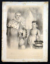 WILLIAM, EARL OF NORTHESK, G.C.B. AND L.L.D. 1822 Hutchiss ANTIQUE LITHOGRAPH