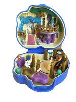 Vintage Polly Pocket Bluebird Disney Beauty & the Beast Play Case Complete V1