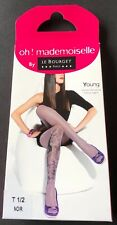 Le Bourget Young Fashion Tights Pantyhose Small-Medium Black