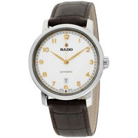 Rado DiaMaster Automatic Movement White Dial Men's Watch R14077136