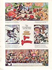 1938 Disney - Silly Symphony The Grasshopper and the Ants from Good Housekeeping