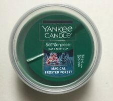 YANKEE CANDLE SCENTERPIECE MAGICAL FROSTED EASY MELT CUP HOLIDAY FAVORITE SCENT