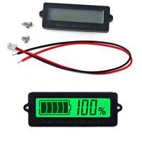 Probador de bateria Monitor de ácido de plomo Voltimetro Indicador de capacidad