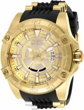 Invicta Star Wars C3po Men's Automatic Watch Black Gold 26521 Big Face 52mm