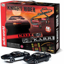 Auto World Knight Rider Slot Car Race Set 16'  - ETS Hobby Shop
