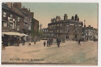 Salford Bridge, Blackburn Postcard, B649