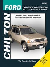 Chilton Repair Manual Ford Explorer & Mercury Mountaineer, 2002-10  #26280