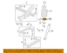 GM OEM Rear Suspension-Spring Insulator 15713853