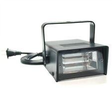 Unido Box Mini Tube Strobe LED Light with Power Cord, Black Portable/Compact