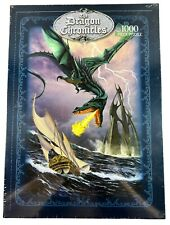 The Dragon Chronicles 1000 Piece Jigsaw Puzzle Dragon Ship By Garry Walton | NEW