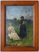 Peinture impressionniste de Louis Aimé JAPY (1839-1916) impressionnisme painting