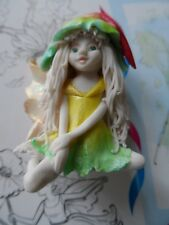Fairy Statue figurine Fortune Fairies from the UK small porcelain handmade OOAK