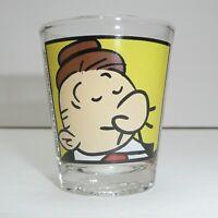 Popeye's Wimpy Stars At MGM Grand Casino Shot Glass Cartoon Bar Collectible