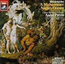 Mendelssohn: A Midsummer Night's Dream ~ Previn, , , Very Good