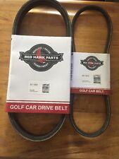 Club Car Golf Cart DS & Precedent Starter Belt & Drive Belt 97&UP FE290 & FE350