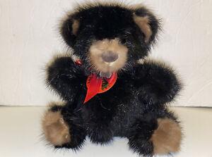 Venture Rare Bear 1982 Mink Teddy Bear NWT