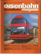 EISENBAHN 05-94 DOPPELSTOCK-SCHIENENBUS VON DWA/INTERMODELLBAU 1994 / TRAM-PLANE