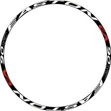 "EASTON EA 90XC MTB Rim Wheel Decal Sticker Replacement For 26""/27.5""/29"" 2RIMS"