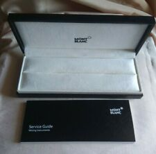 Authentic Box / Case For Pen MONT BLANC With Guarantee