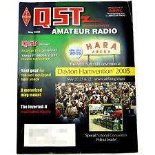 QST HAM/Amateur Radio ARRL MAGAZINE - MAY 2005 Yaesu FT-8800R Fan Dipole Antenna