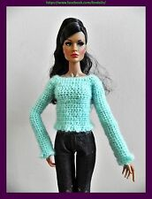 Clothes for Fashion Royalty / FR2 / Barbie /  Poppy Parker : sweater