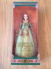 "BNIB MATTEL B3456 Legends Of Ireland 2004 Redhead Faerie Queen 13.5"" Barbie Doll"