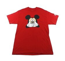 NEFF Mickey Mouse T-Shirt sz L Large Red
