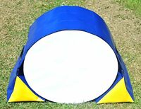 Dog Agility Training Tunnel Sand Bags Adjustable Indoor Outdoor Apparatus UV PVC