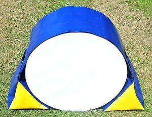 Dog Agility Training Tunnel Sand Bags Adjustable Indoor Outdoor Apparatus UV PVC
