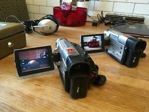 JVC GR-DVL308 Camera x 2 Bundle / Bag / Batteries / Charger (vintage / 90s look)