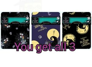 Disney Nightmare Before Christmas Tablecloth Set of 3 (read details for info)