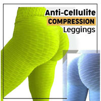Anti-Cellulite Compression Leggings Women Butt Lifter Yoga Pant Fitness Trousers