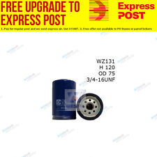 Wesfil Oil Filter WZ131 fits Toyota 4 Runner 2.4 (RN130)