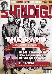 SHINDIG! ISSUE #54 FEB 2016 THE BAND THE BYRDS DAVID BOWIE THE CORAL LONG RYDERS