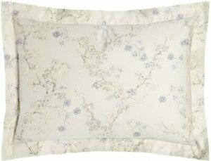 Ralph Lauren Madeline Floral Standard Sham Grey/Multi 300 TC Cotton MSRP $ 115