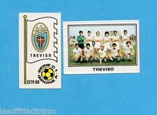 PANINI CALCIATORI 1979/80-Figurina n.515- TREVISO -SCUDETTO+SQUADRA-Rec
