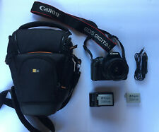 Canon EOS Rebel T4i / EOS 650D 18.0MP Digital SLR Camera - Black
