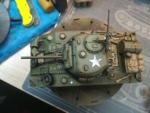 Tamiya 1/35 pro built sherman tank